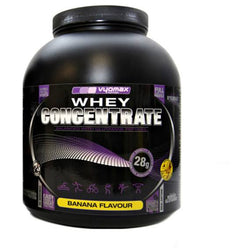 Vyomax Nutrition Whey Concentrate 2.2kg / Banana Protein  www.nutri4u.co.uk