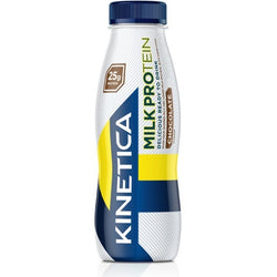 Kinetica Milk Protein RTD 1 x 330ml Bottle / Banana Protein  www.nutri4u.co.uk - 1
