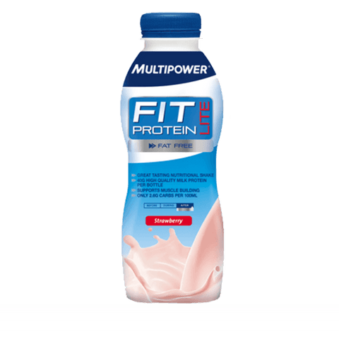 MultiPower Fit Protein Lite 1 x 500ml / Chocolate Protein  www.nutri4u.co.uk - 1