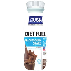 USN Diet Fuel RTD 8 x 330ml / Chocolate Protein  www.nutri4u.co.uk