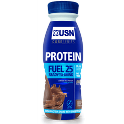 USN Protein Fuel 25 8 x 330ml / Chocolate Protein  www.nutri4u.co.uk