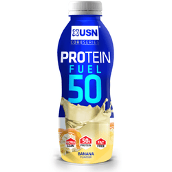 USN Protein Fuel 50 8 x 500ml / Banana Protein  www.nutri4u.co.uk