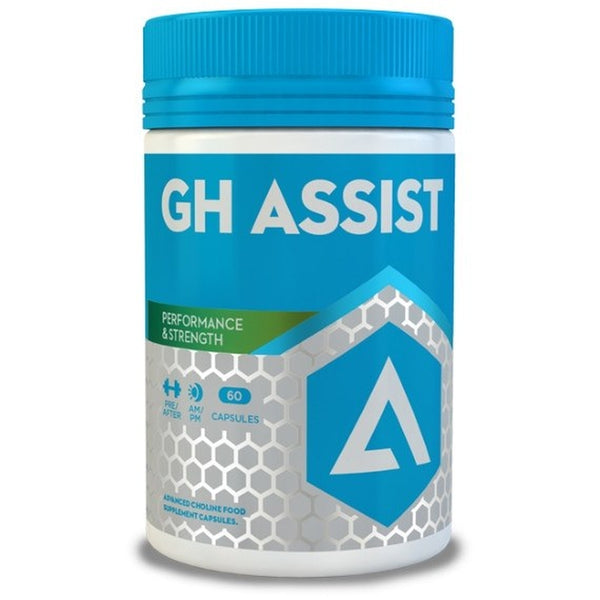 Adapt Nutrition GH Assist 60 Caps Testosterone Booster  www.nutri4u.co.uk