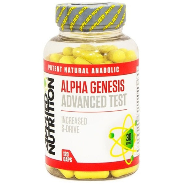 Applied Nutrition Alpha Genesis 120 Caps Testosterone Booster  www.nutri4u.co.uk