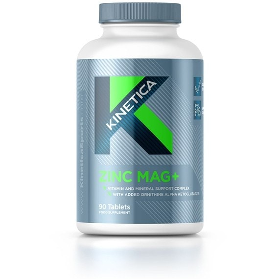 Kinetica Zinc Mag+ 90 Caps Testosterone Booster  www.nutri4u.co.uk