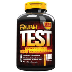 Mutant Test 180 Caps (30 Servings) Testosterone Booster  www.nutri4u.co.uk