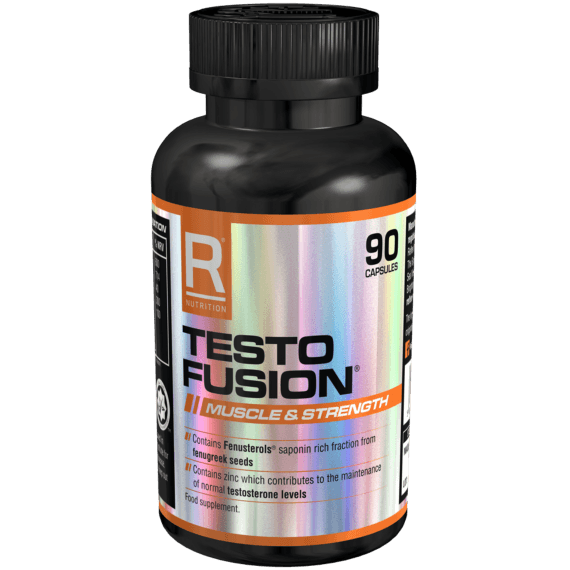 Reflex Nutrition Testo Fusion 90 Caps Testosterone Booster  www.nutri4u.co.uk