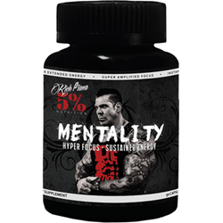 Rich Piana 5% Nutrition Mentality (90 Caps) 90 Caps Vitamins & Minerals  www.nutri4u.co.uk