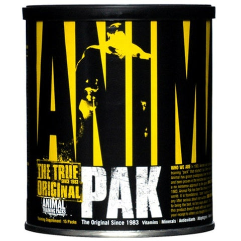 Animal Pak 15 Paks Vitamins & Minerals  www.nutri4u.co.uk - 1