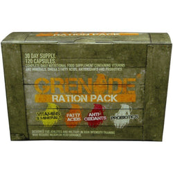 Grenade Ration Pack 120 Caps (30 Days' Supply) Vitamins & Minerals  www.nutri4u.co.uk