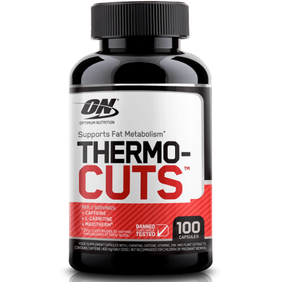 Optimum Nutrition Thermocuts 100 Capsules (50 Servings) Weight Management  www.nutri4u.co.uk - 1