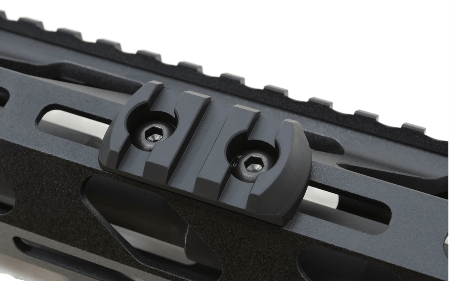 M-Lok 3 Slot Picatinny Rail Section