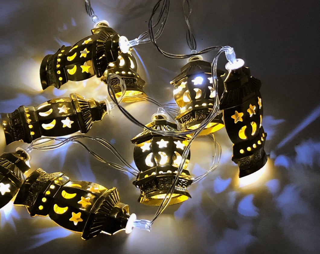 Lantern Lights - Gold - Anafiya Gifts