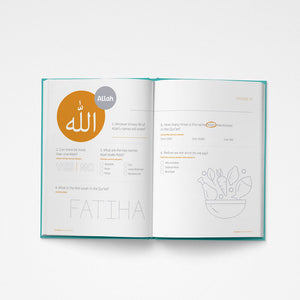 Names Of Allah Workbook