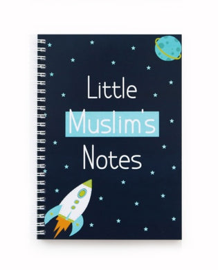 Little Muslim's Notes - Dark Blue - Anafiya Gifts