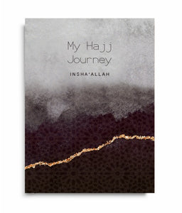 My Hajj Journey Notebook - Anafiya Gifts