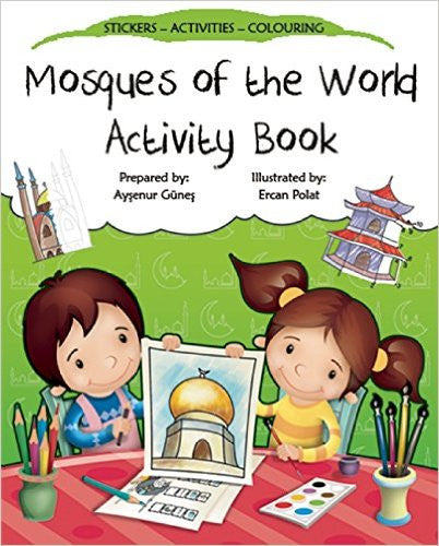 Mosques Of The World Activity Book - Anafiya Gifts