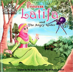 Princess Latifa And The Angry Spider - Anafiya Gifts