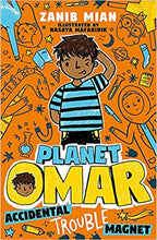Load image into Gallery viewer, Planet Omar: Accidental Trouble Magnet