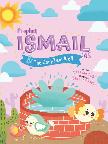 Prophet Ismail & The Zam-Zam Well Activity Book - Anafiya Gifts