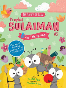 Prophet Sulaiman & The Talking Ants Activity Book - Anafiya Gifts