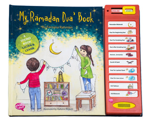 My Ramadan Dua Story Sound Book - Anafiya Gifts