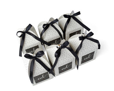 Eid Mubarak Gift Favour Boxes Sprinkle - 6 Pack
