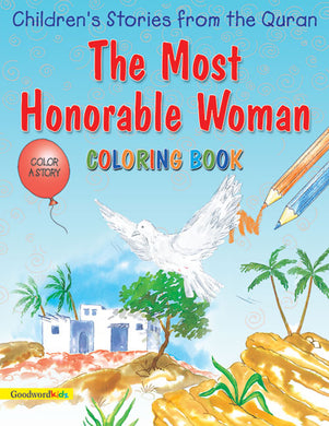 The Most Honorable Woman Colouring Book - Anafiya Gifts
