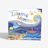 My first book of Islamic Months (Fold-out & lift-the-flap) - Anafiya Gifts
