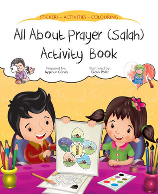 All About Prayer (Salah) Activity Book - Anafiya Gifts