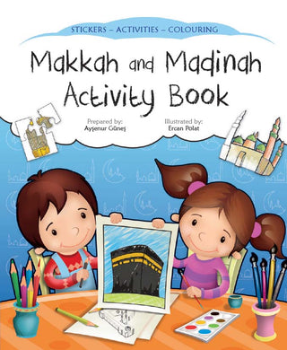 Makkah and Madinah Activity Book - Anafiya Gifts