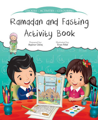 Ramadan And Fasting Activity Book - Anafiya Gifts