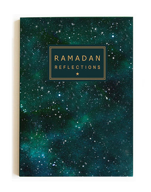 Ramadan Reflections Gold Foil Notebook