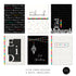Eid Cards - 6 Pack - Black & White