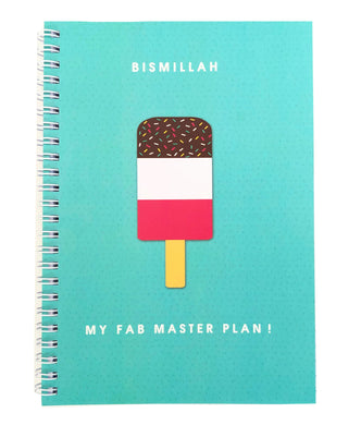 Bismillah - My Fab Master Plan! Notebook - Anafiya Gifts