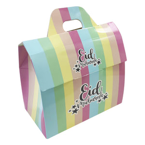 Eid Mubarak Treat Boxes - Pastel