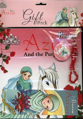 Princess Aziza And The Purple Orchid - Anafiya Gifts