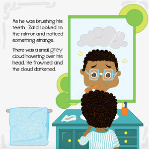 Zaid and the Gigantic Cloud - Anafiya Gifts