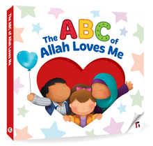 Load image into Gallery viewer, The ABC of Allah Loves Me - Anafiya Gifts