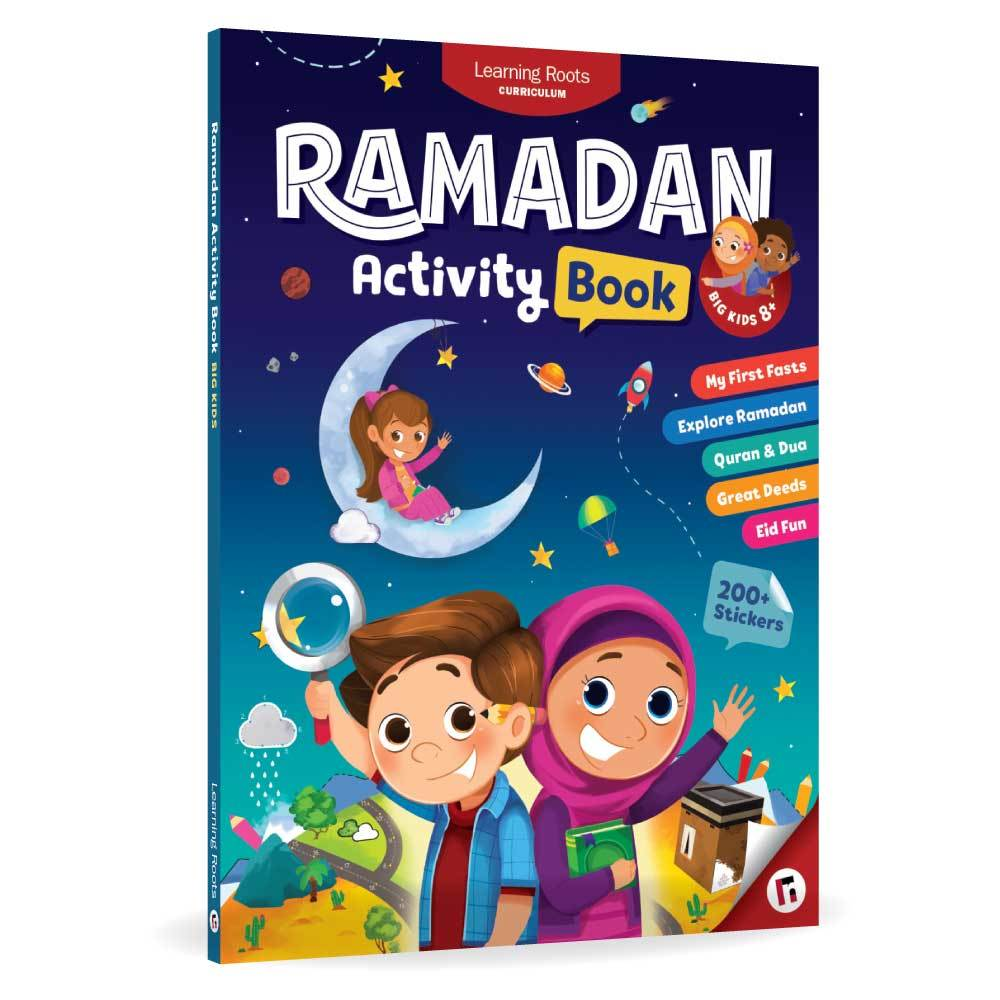 Ramadan Activity Book 2019 - Age 8+ - Anafiya Gifts