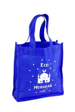 Kids Eid Mubarak Bag - Blue - Anafiya Gifts