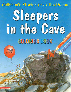 Sleepers in the Cave Colouring Book - Anafiya Gifts