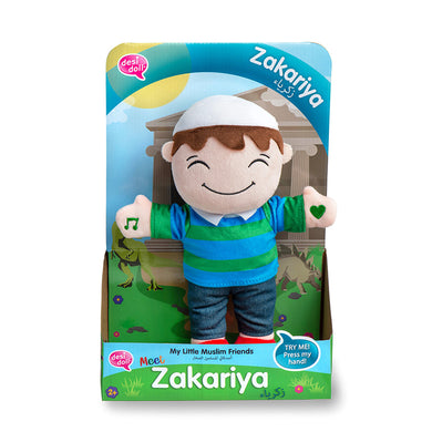 Zakariya - My Little Muslim Friends - Anafiya Gifts