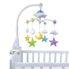 Moon and Star Cot Mobile - Anafiya Gifts