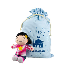 Load image into Gallery viewer, Eid Mubarak Gift Sack - Blue