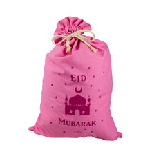 Load image into Gallery viewer, Eid Mubarak Gift Sack - Pink