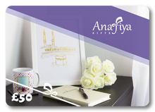 Load image into Gallery viewer, E-Voucher Gift Card - Anafiya Gifts