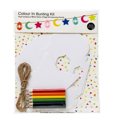 Colour In Bunting Kit - Anafiya Gifts