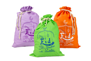 My Eid Goodies Gift Sack - Orange