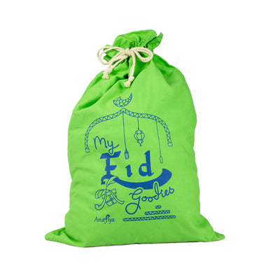 My Eid Goodies Gift Sack - Green
